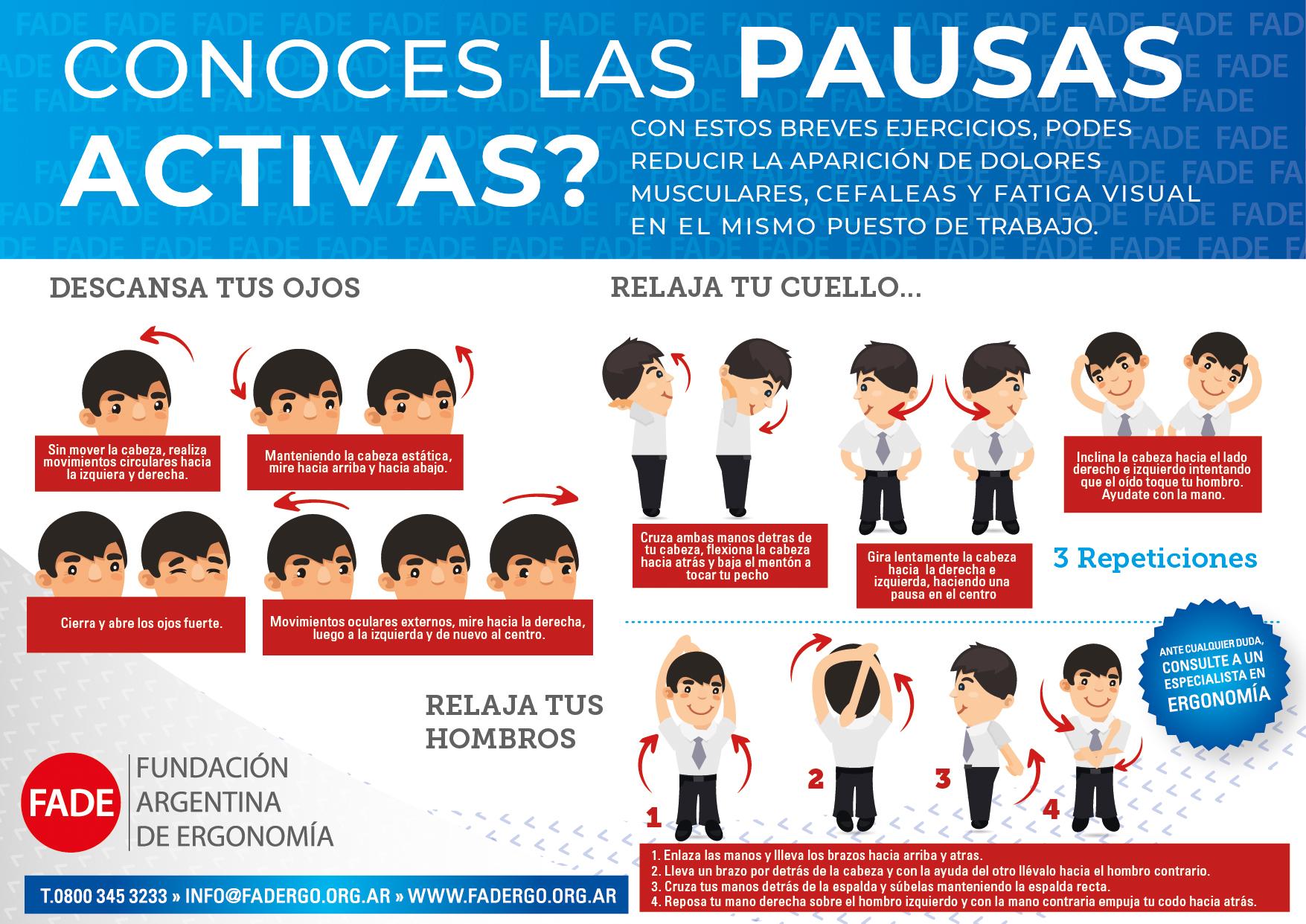 10 Beneficios de las Pausas Activas - Ergonoticias 9b1b74f1a313